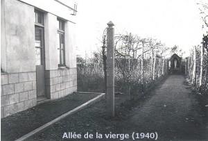 Allée de la Vierge 1940 gimp